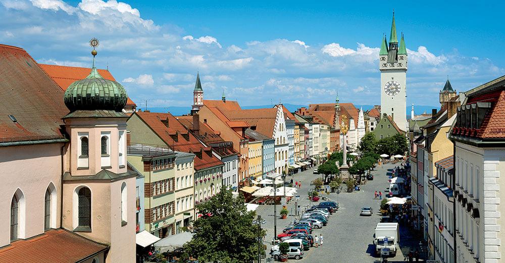 Straubinger Stadtplatz